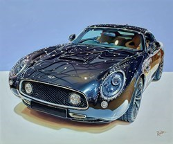 2019 Aston Martin David Brown Speedback Silverstone Edition by Roz Wilson -  sized 36x30 inches. Available from Whitewall Galleries